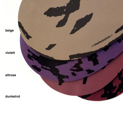 4 verschiedene Farb- & Mustervarianten